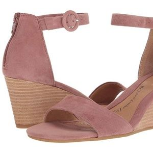 Sofft Pink Wedge Sandal NEW